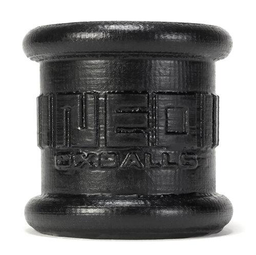 Neo 2 Inch Tall Ball Stretcher Squishy  Silicone - Black