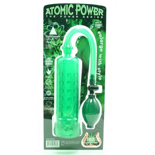 Atomic Power Pump - Green
