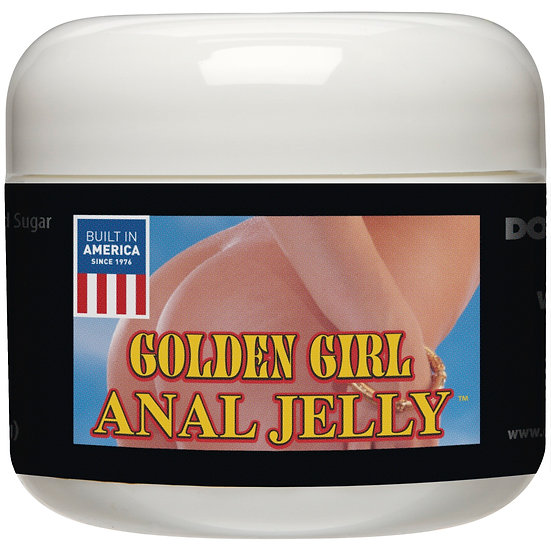Golden Girl Anal Jelly 2 Oz Bulk