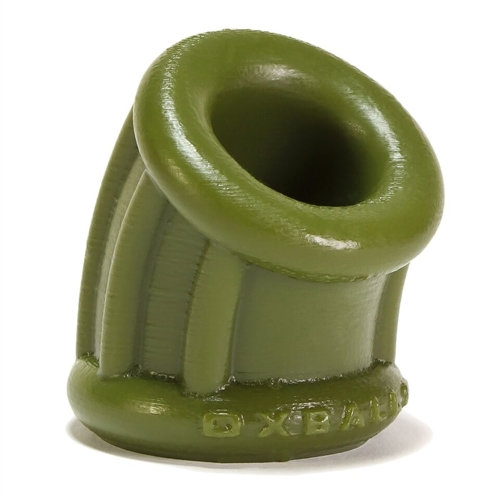 Bent-1 Ballstretcher Curved Silicone - Small - Army