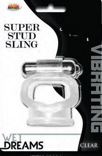 Wet Dreams Super Stud Sling - Clear