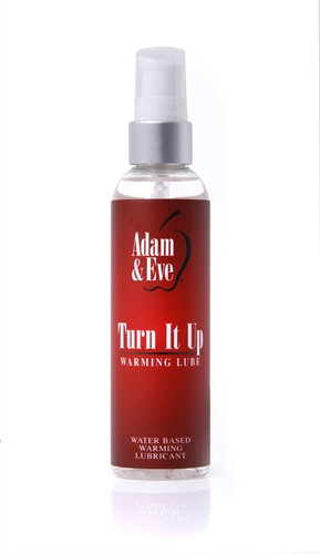 Adam and Eve Turn It Up Warming Lubricant 4 Oz