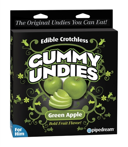 Gummy Undies - for Him - Green Apple