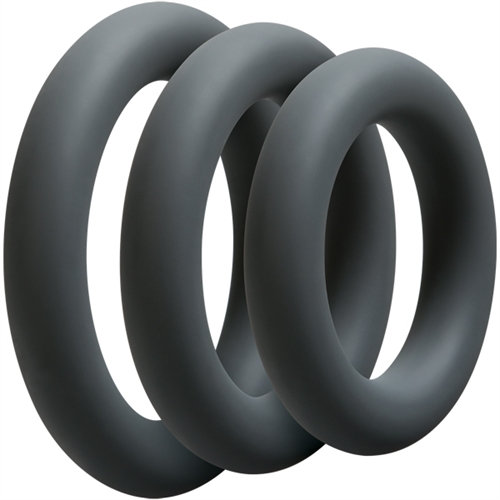 Optimale 3 C Ring Set - Thick - Slate
