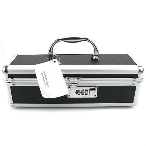 Vibrator Case Lockable - Black