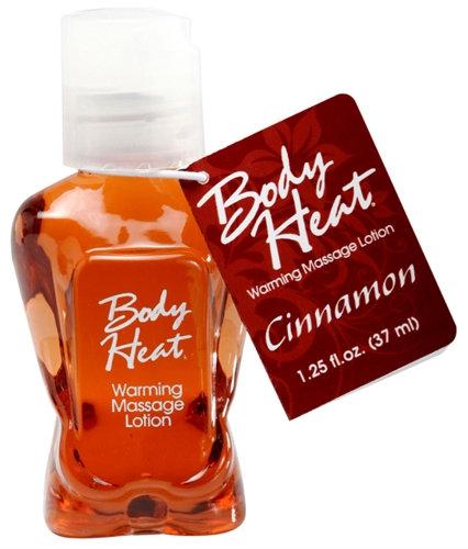 Body Heat Warming Massage Lotion - 1.25 Fl. Oz. - Cinnamon