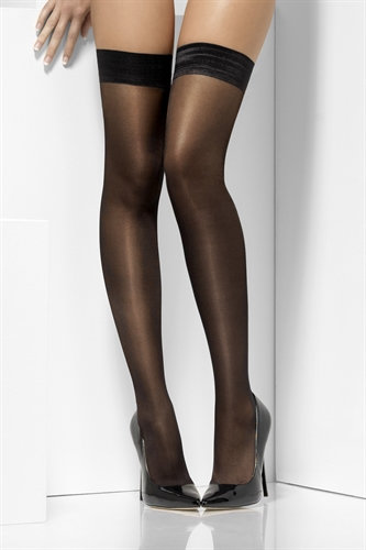 Sheer Shine Hold-Ups-Black
