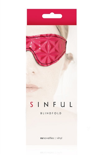 Sinful - Blindfold - Pink