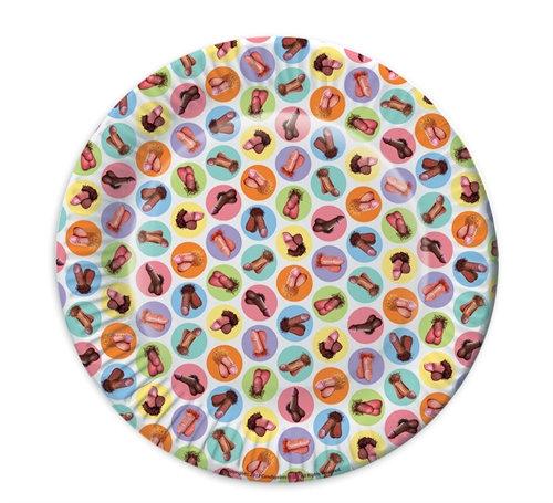 Mini Penis Plates 8 Pack