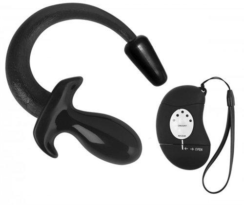 Good Boy 5 Mode Vibrating Remote Puppy Plug - Black