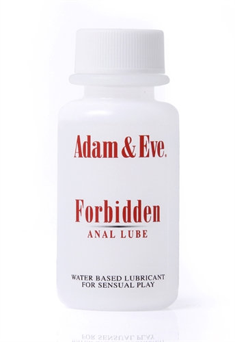 Adam and Eve Forbidden Anal Lube 1 Oz
