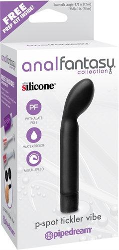 Anal Fantasy Collection P-Spot Tickler Vibe - Black