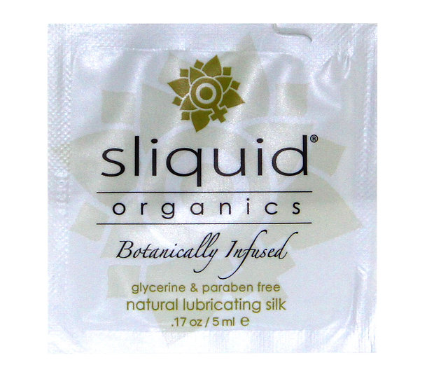 Organics Silk Pillows - 200 Case Count - .17 Oz./ 5ml Foils