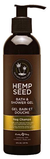 Hemp Seed Bath and Shower Gel 8OZ