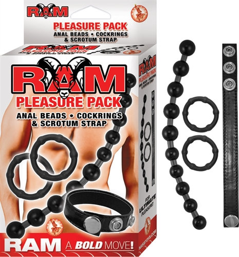 Ram Pleasure Pack - Black