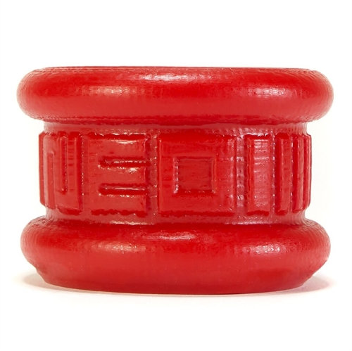 Neo 1.25 Inch Short Ball Stretcher Squishy  Silicone - Red