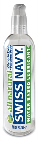 Swiss Navy Premium All Natural Lubricant - 8 Oz.