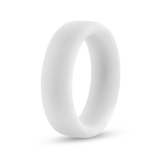 Performance - Silicone Glo Cock Ring - White  Glow