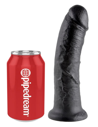 King Cock 8-Inch Cock - Black