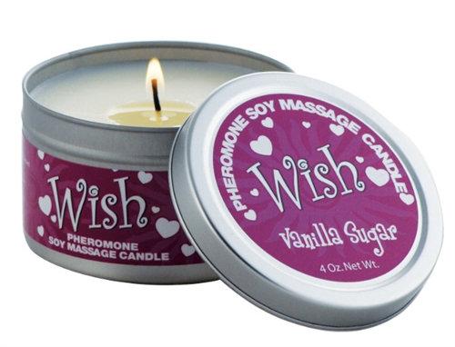 Pheromone Candle Wish 4 Oz