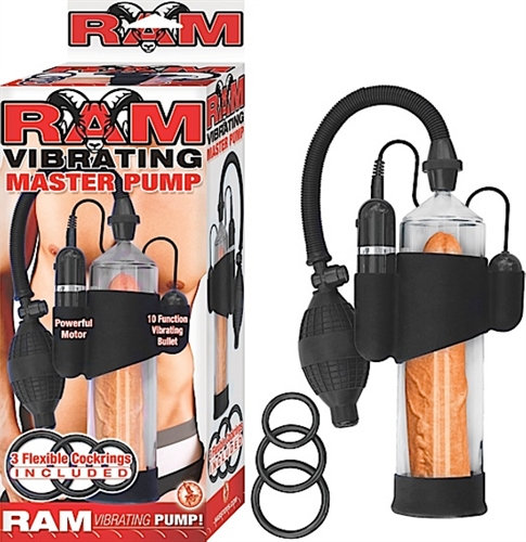 Ram Vibrating Master Pump - Clear