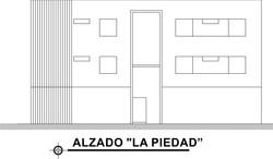 ALZADO LA PIEDAD