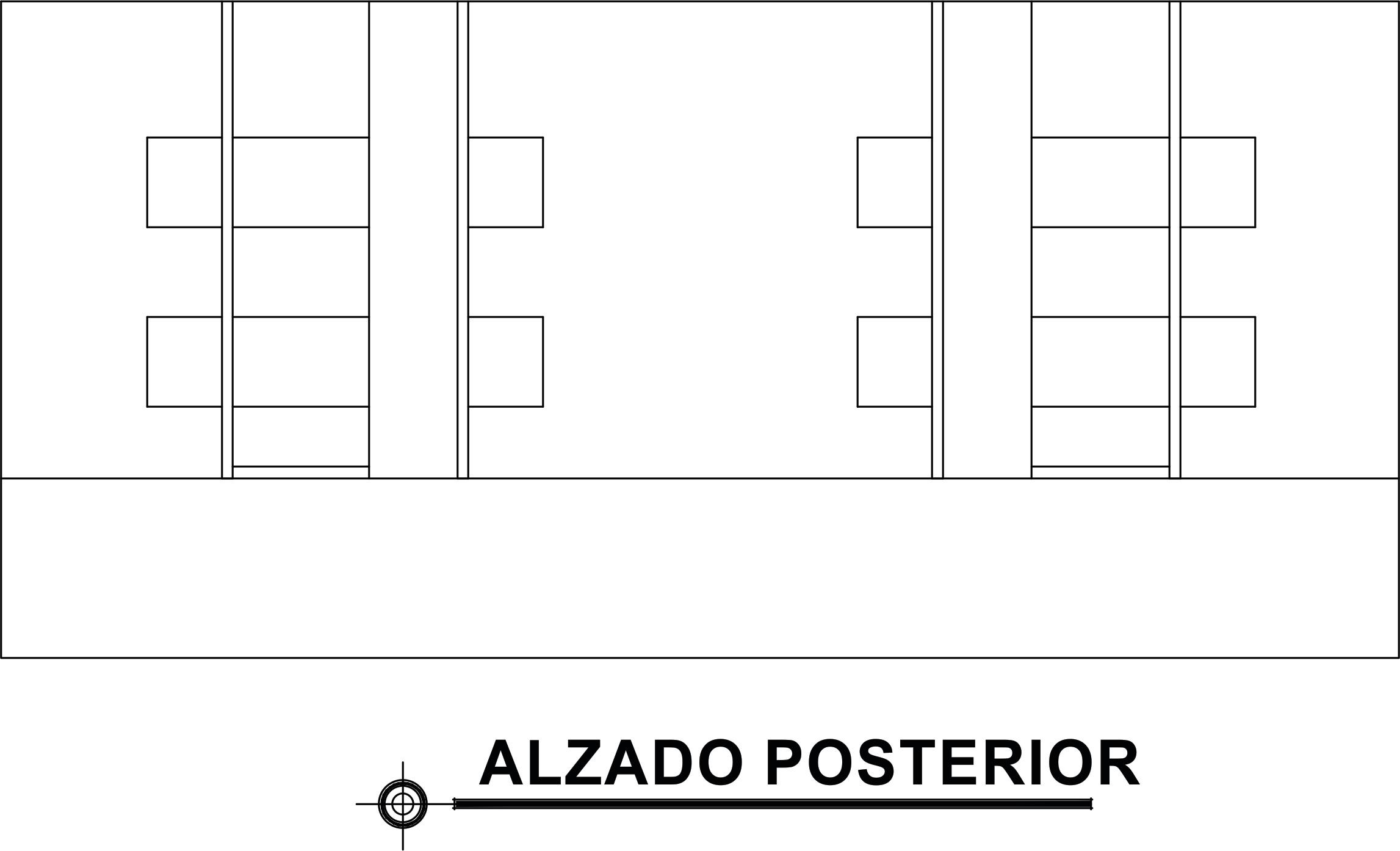 ALZADO POSTERIOR