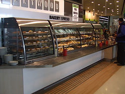 Bakery and Cafe Hot Food Display Cabinet