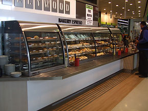 Bakery and Cafe Standard Hot Food Display Cabinet