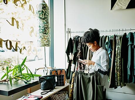 mulher da compra