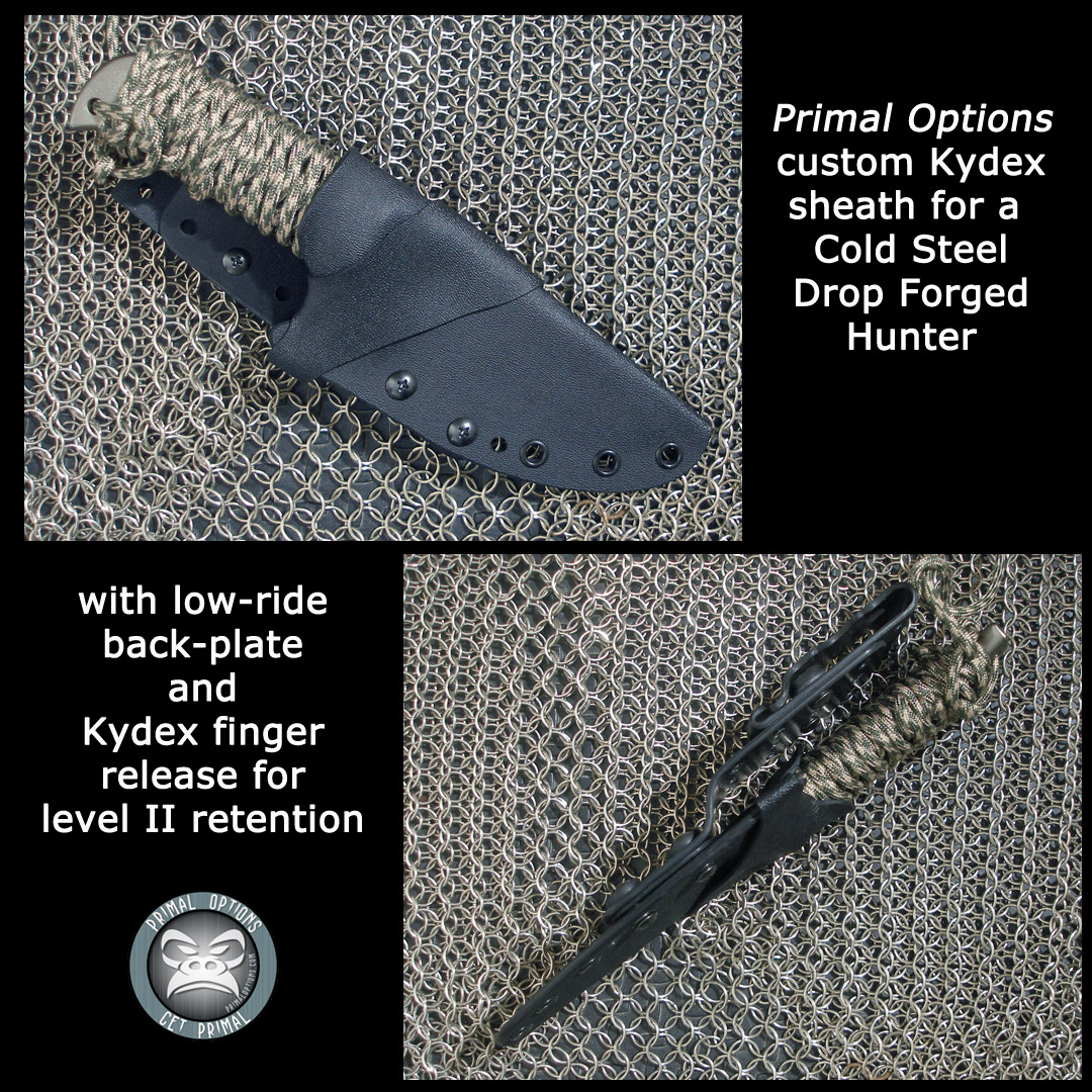 Cold Steel Drop Forged Hunter