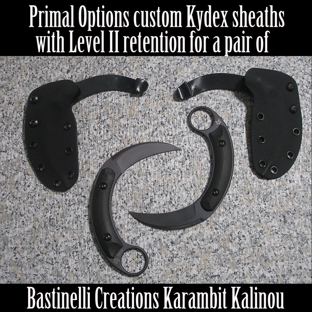 Bastinelli Karambits