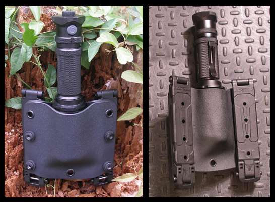 Custom Kydex flashlight pouch