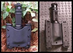 Custom Kydex flashlight pouch