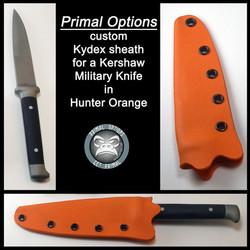 Kershaw Military Knife