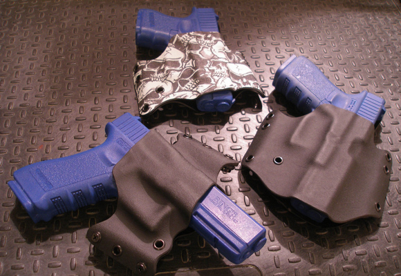 Custom Kydex Glock holsters