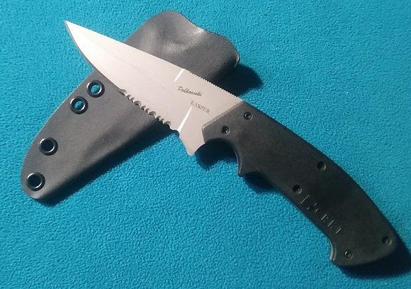 Kasper / Polkowski Companion black Kydex sheath