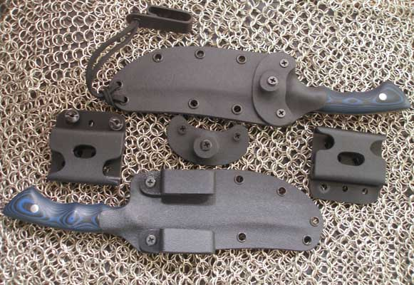 Custom Kydex sheaths for AlleyGators