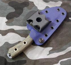 Custom Kydex sheath for a Swamp Rat