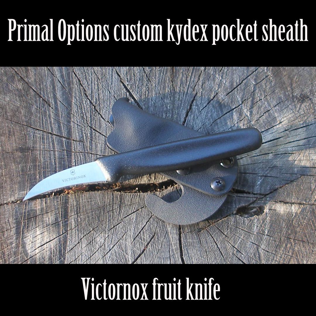 Kydex sheath for a Victornox