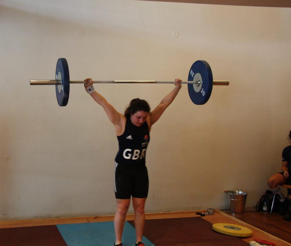 GB Women's Weightlifting Team