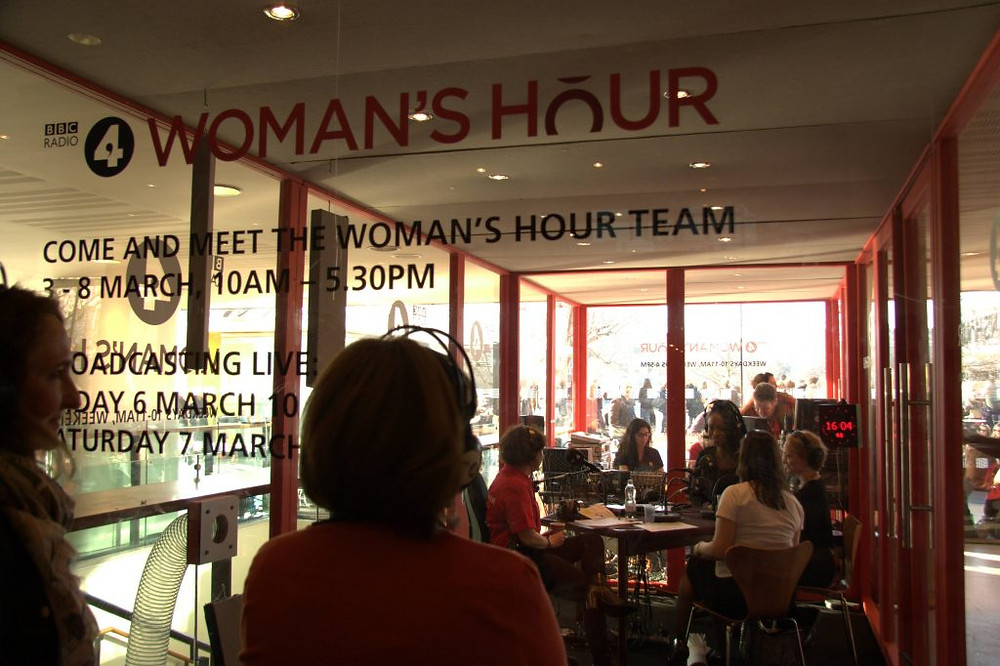 Woman's Hour team for International Women's Day, Southbank