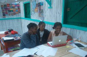 Embroidery teaches business skills, madagascar