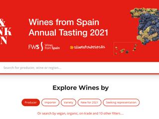 Three months of digital tastings: Wines from Spain 2021