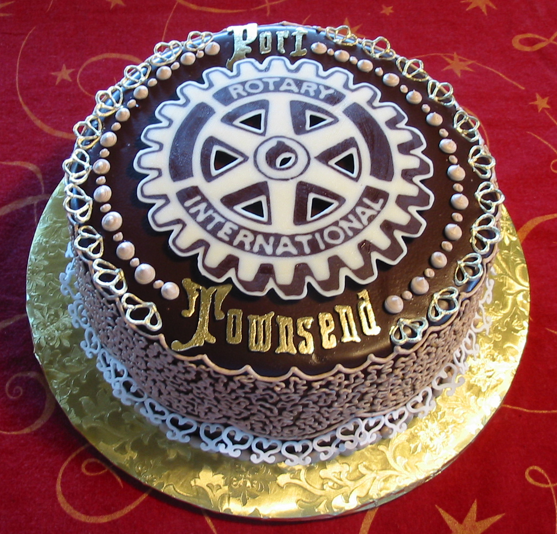 Port Townsend Rotary fundraiser cake