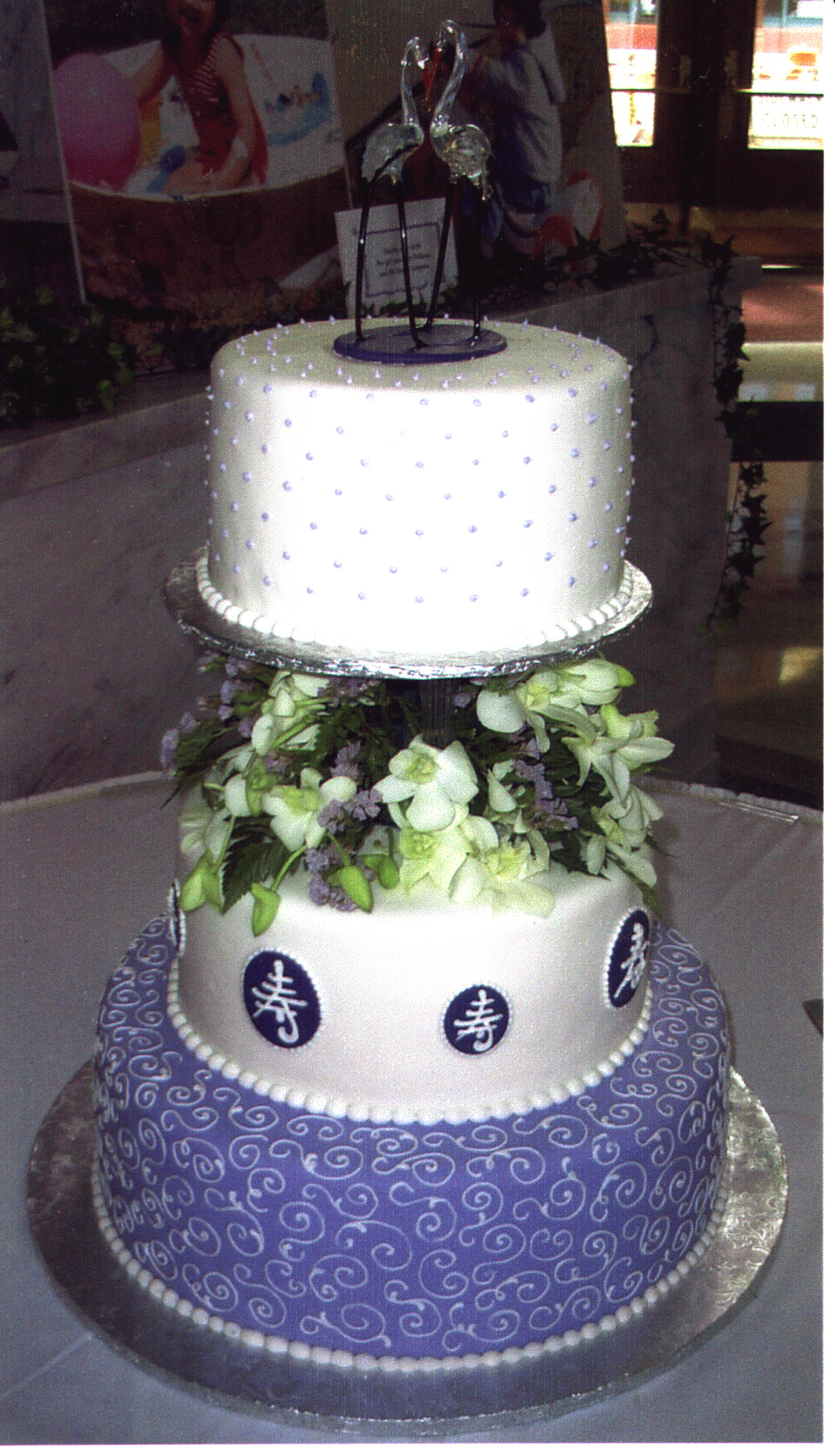 Asian wedding cake