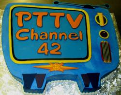 PTTV celebration cake