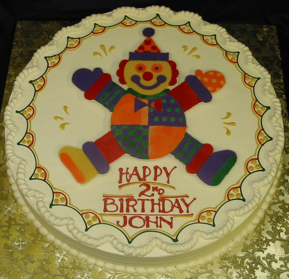Gymboree birthday cake