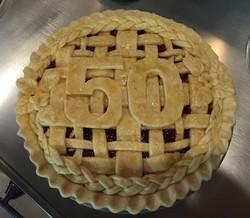50th Birthday Pie