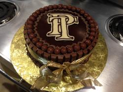 Team PT fundraising cake